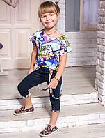 Детский костюм для девочки «Коллаж»