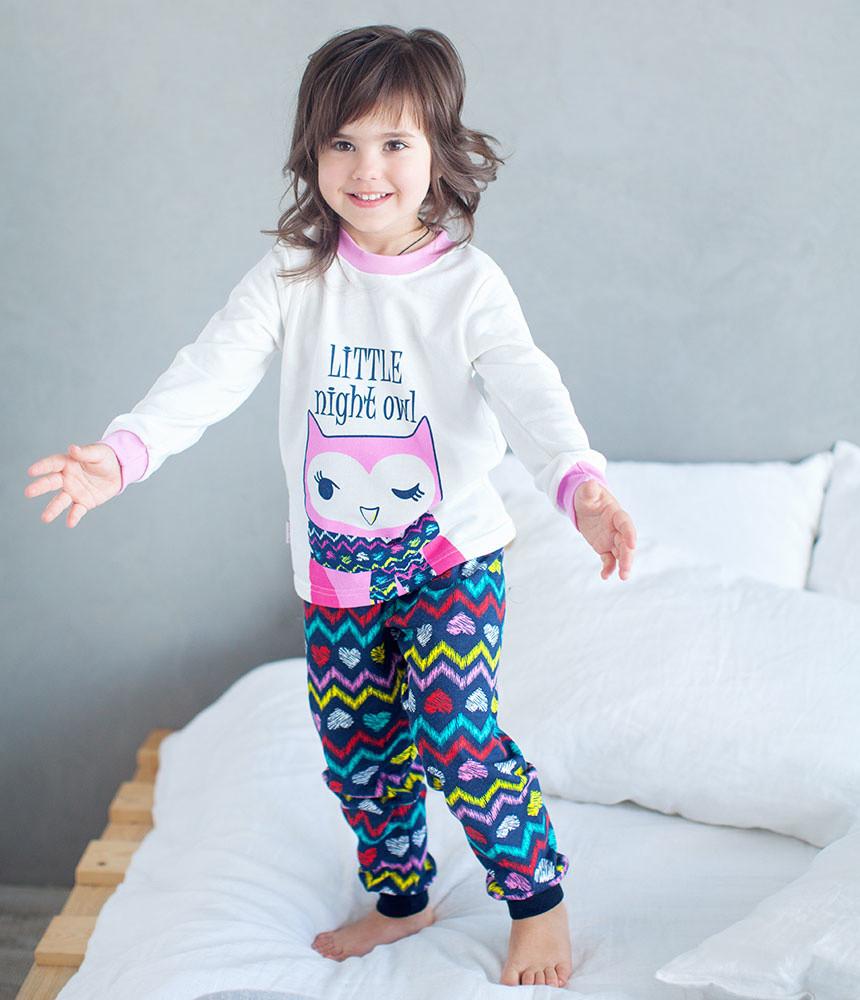 Детская пижама для девочки «Совушка»