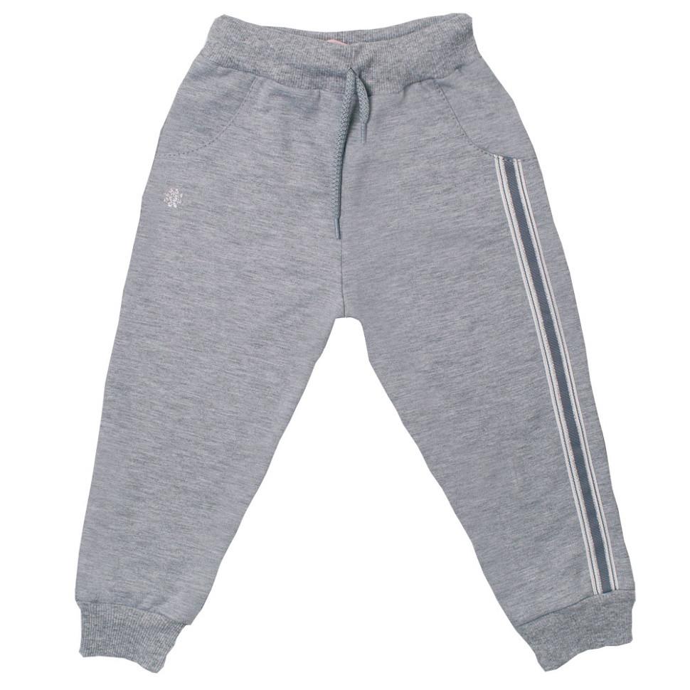 Детские брюки для девочки BR-05-18 «Горошки»