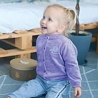 Детская кофточка для девочки KF-05-18 «Горошки», фото 1