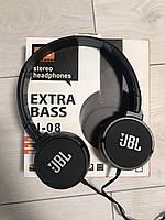 Наушники гарнитура JBL J08. Проводные наушники с микрофоном