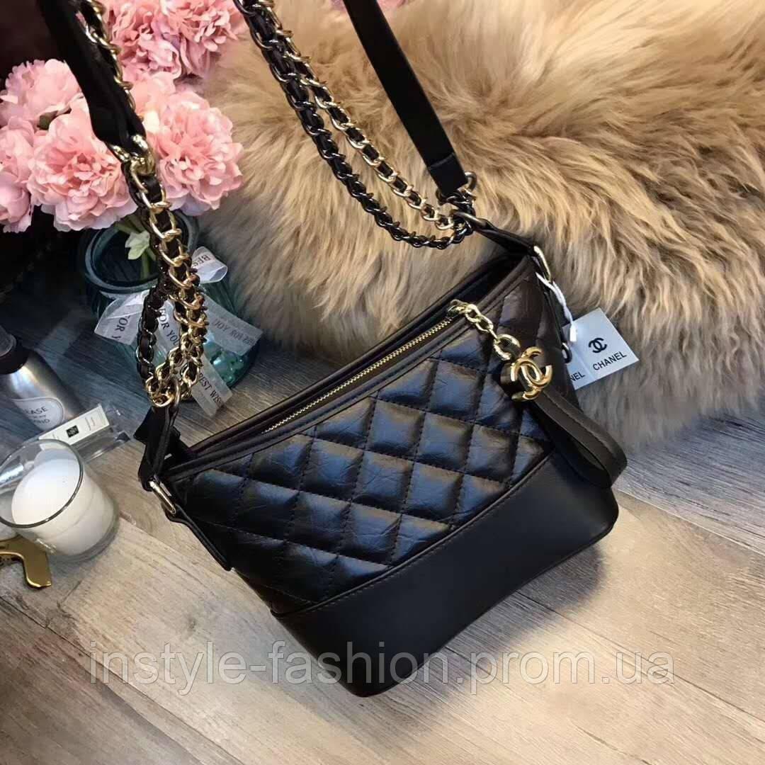 c408696ea0fe Женская модная сумка-клатч копия Шанель Chanel качественная эко-кожа Китай  черная