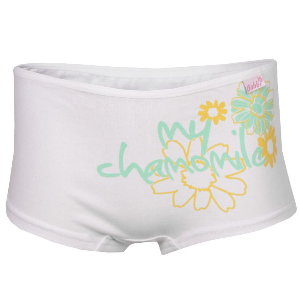 Детские трусы-шорты для девочки «Ромашки» (2 шт.)
