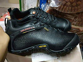 Кросівки Merrell Vibram 2 Reactor Black Waterproof шкіряні. NEW.