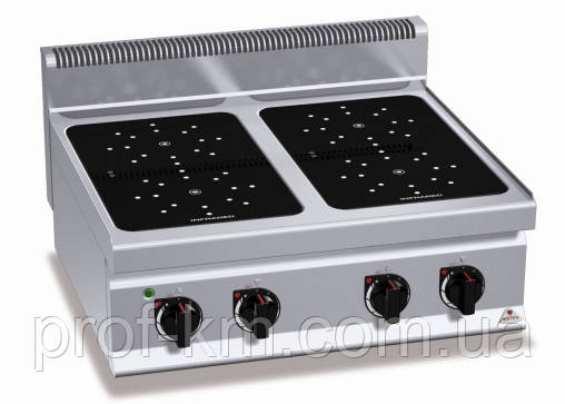 Плита инфракрасная Bertos E7P4B/VTR (БН)