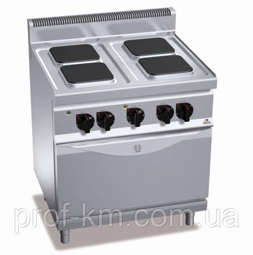 Плита электрическая Bertos E7PQ4+FE1 (БН)