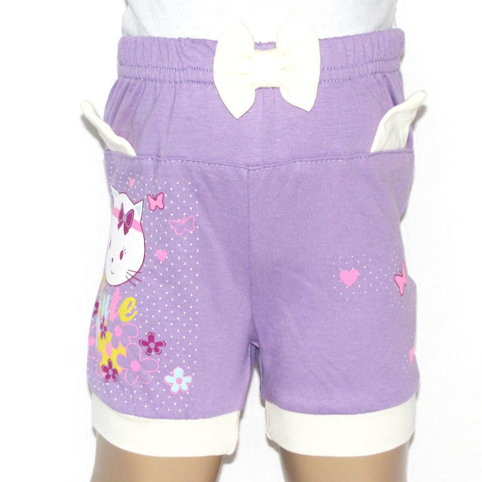 Детские шорты для девочки «Киска»