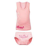 Детский комплект белья для девочки «Мяу», фото 1