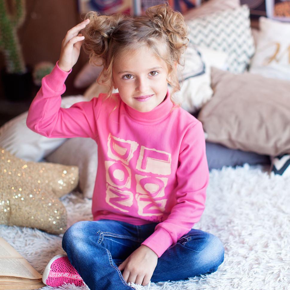 Детский свитер для девочки SV-16-18 «Лондон нью»