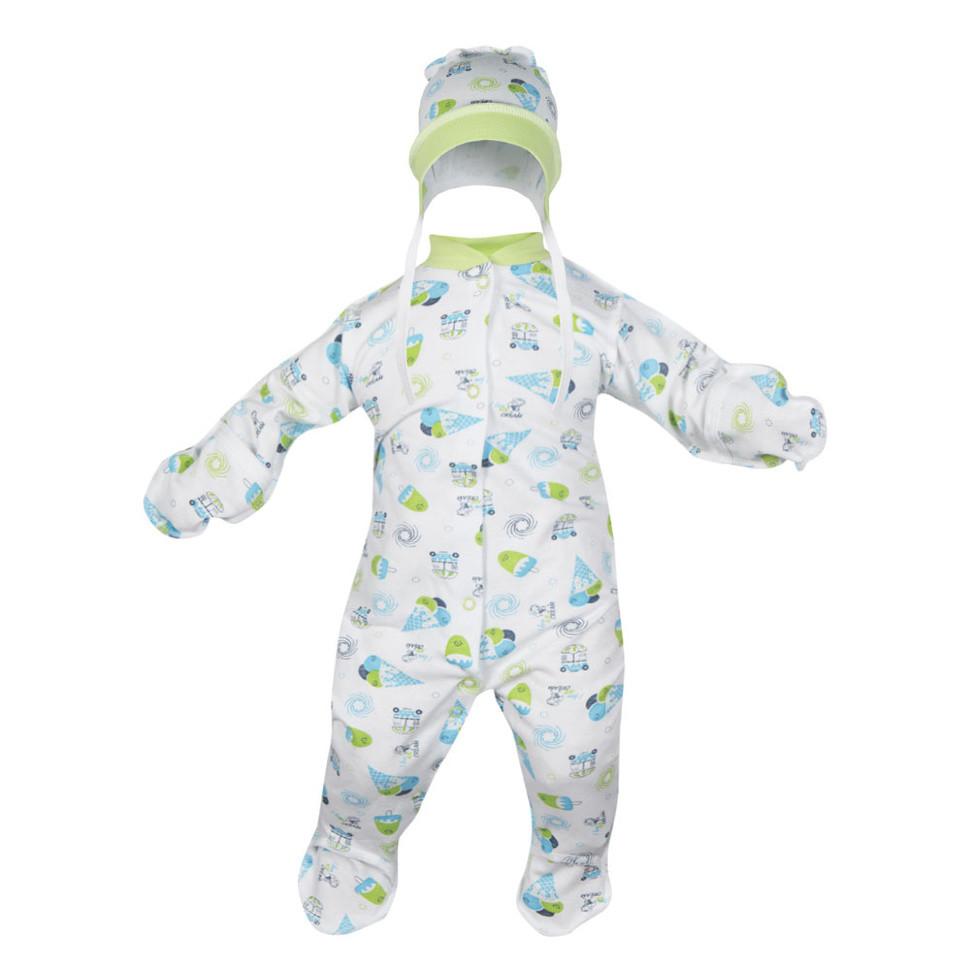 Детский комплект для мальчика «Беби-2» тёплый