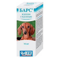 Барс Капли для лечения глаз у собак и кошек