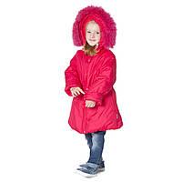 Детское пальто для девочки зимнее