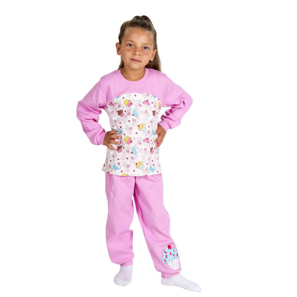 Детская пижама для девочки «Пироженко»