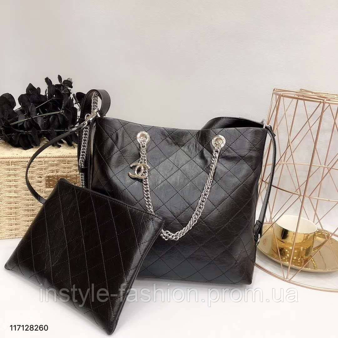 2d7a4b46db03 Женская модная сумка копия Шанель Chanel качественная эко-кожа дорогой Китай