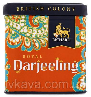 Чай черный индийский Royal Darjeeling  Richard ,ж\б, 50 гр, фото 2