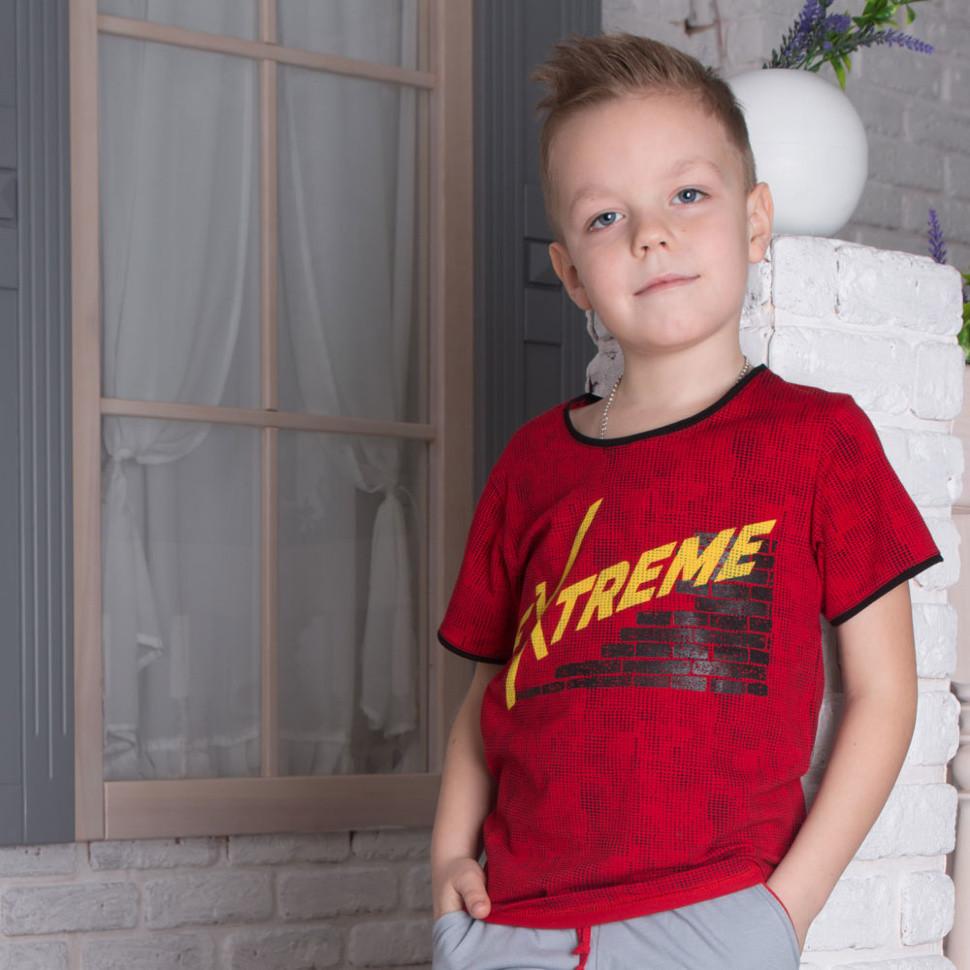 Детская футболка для мальчика «Пиксели»