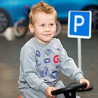 Детский джемпер для мальчика DG-07-18 «Гонки», фото 1