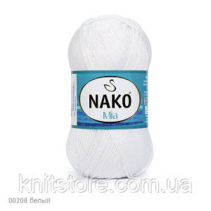 Пряжа Nako Mia Белый