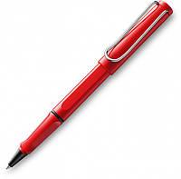 Ручка-роллер Lamy Safari Красная / Стержень M63 1,0 мм Синий (4014519282624), фото 1