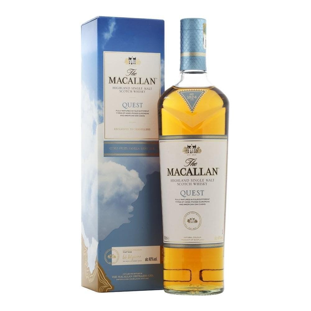 Шотландский односолодовый виски Macallan Quest 1 литр