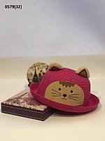 Летняя  детская шляпка с ушками 0579(32), фото 1