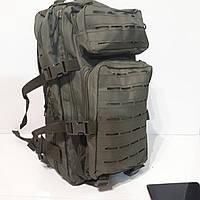 Армейский рюкзак 40 литров мужской оливковый тактический солдатский