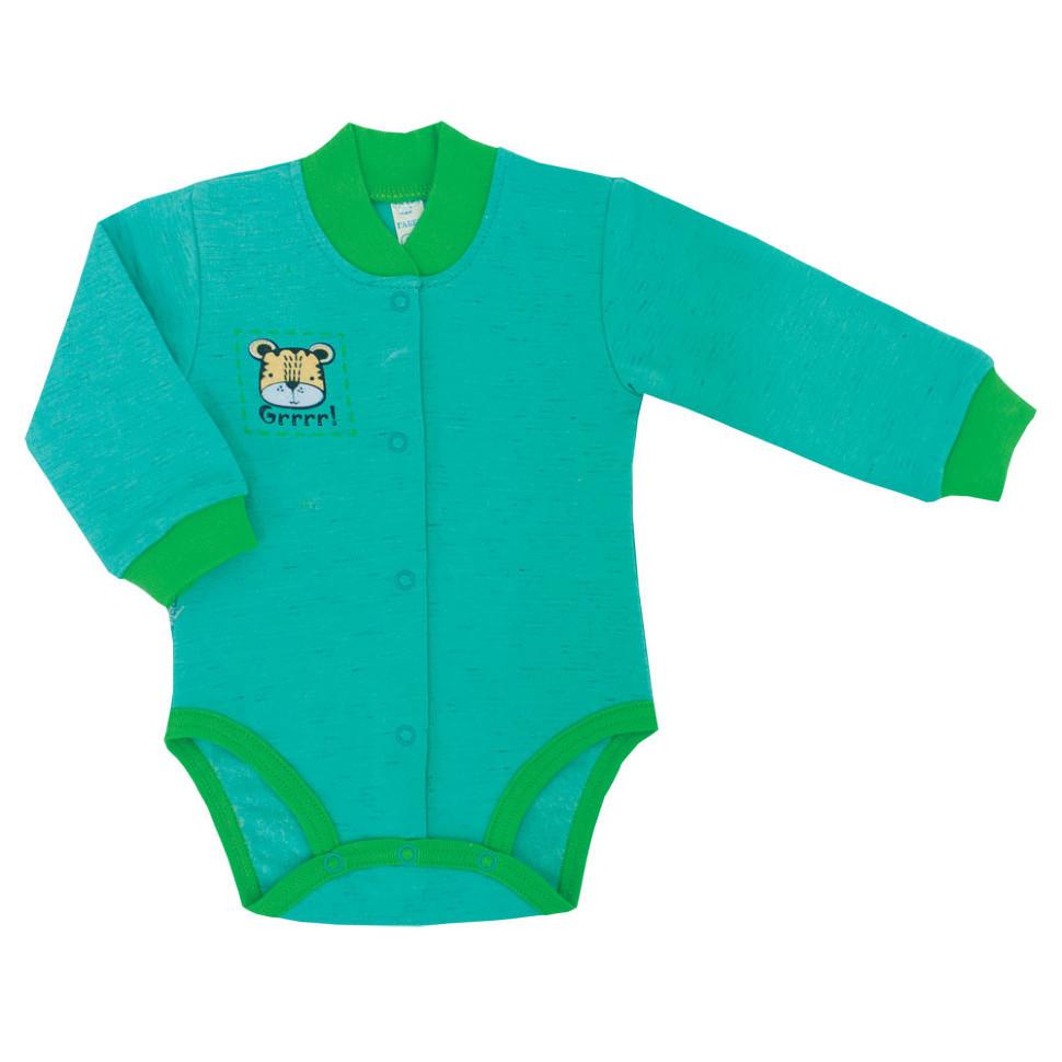 Детское боди для мальчика BD-03-3-18 «Зооленд»