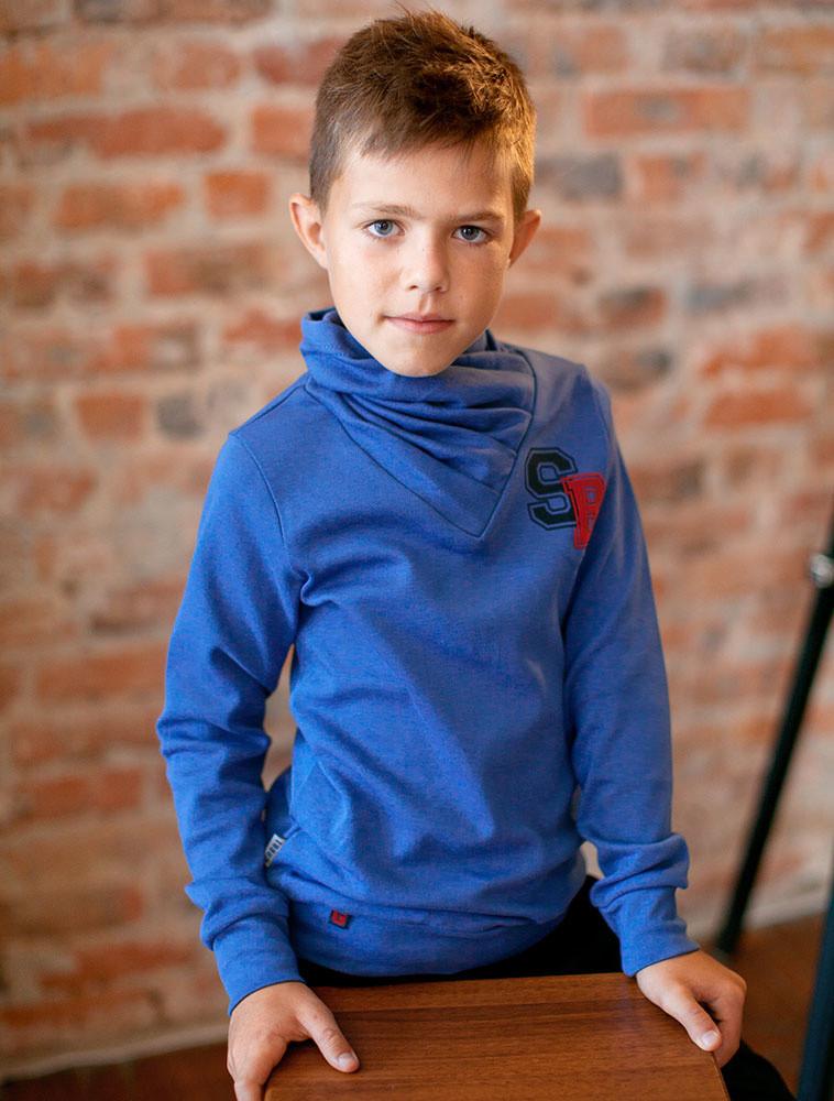 Детский свитер для мальчика SV-17-1-18 «Супербой»