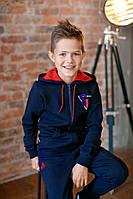 Детская кофта для мальчика KR-17-18 «Супербой», фото 1