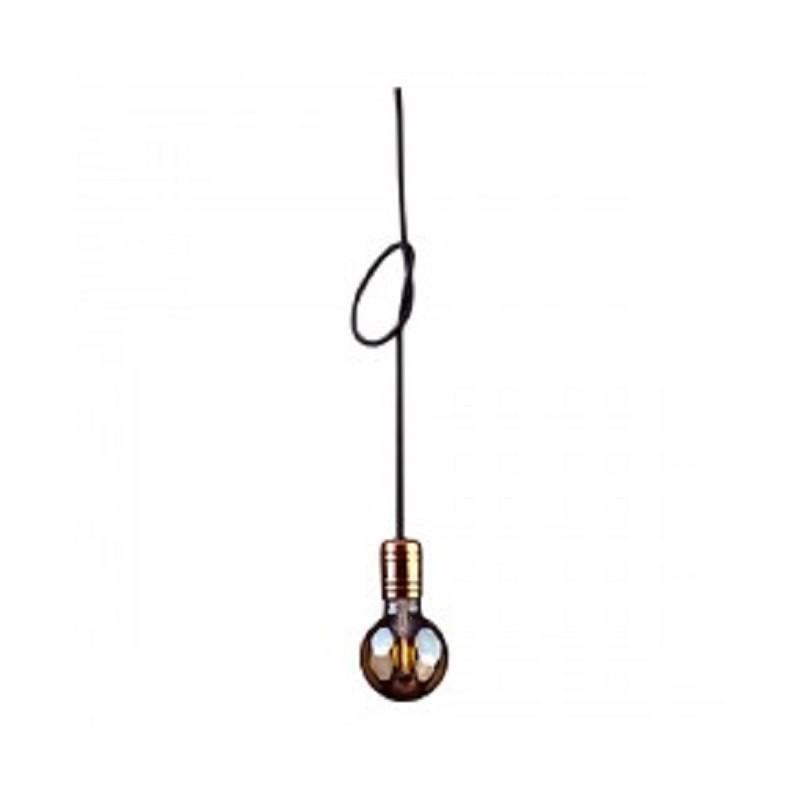 Люстра підвіс одноламповая NOWODVORSKI Cable Black/Copper 9747