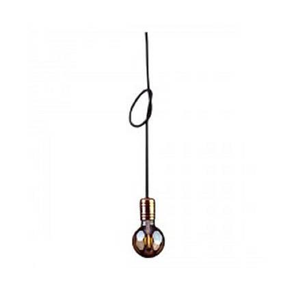 Люстра підвіс одноламповая NOWODVORSKI Cable Black/Copper 9747, фото 2