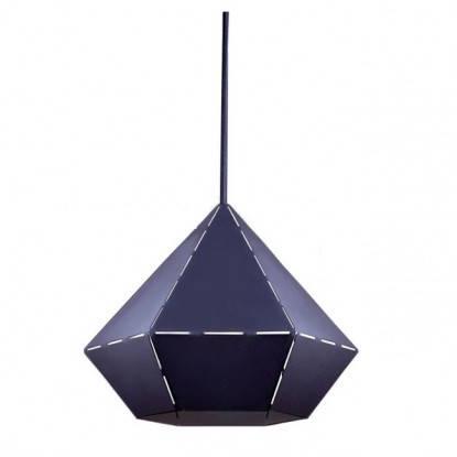 Люстра подвес одноламповая NOWODVORSKI Diamond Black 6344 черная, фото 2