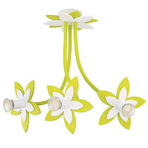 Люстра детская NOWODVORSKI Flowers Green 6898 зеленая