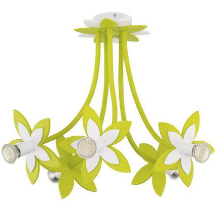 Люстра детская NOWODVORSKI Flowers Green 6901 зеленая, фото 2
