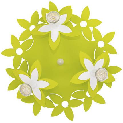Люстра детская NOWODVORSKI Flowers Green 6900 зеленая, фото 2