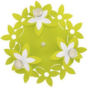 Люстра детская NOWODVORSKI Flowers Green 6900 зеленая