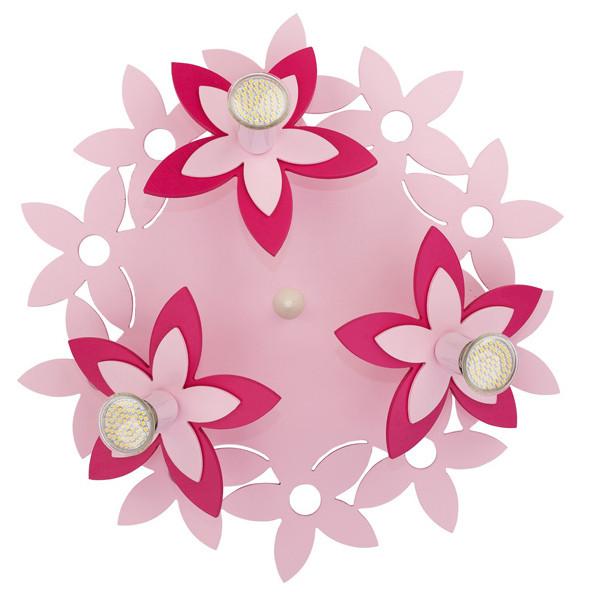 Люстра детская NOWODVORSKI Flowers Pink 6895 розовая