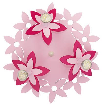 Люстра детская NOWODVORSKI Flowers Pink 6895 розовая, фото 2