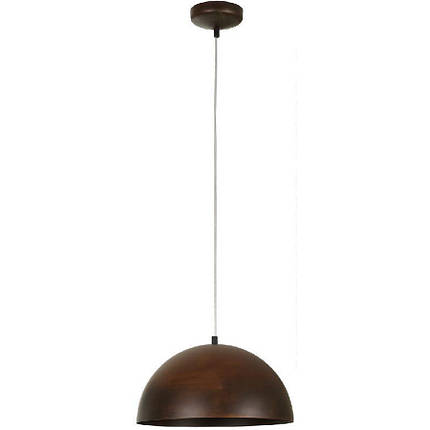Люстра подвес одноламповая NOWODVORSKI Hemisphere Rust 6367 коричневая, фото 2