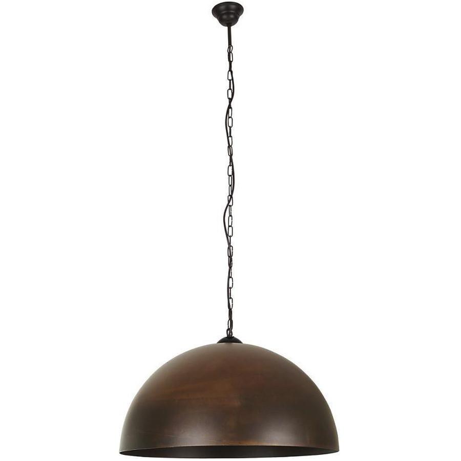 Люстра подвес одноламповая NOWODVORSKI Hemisphere Rust 6368 коричневая