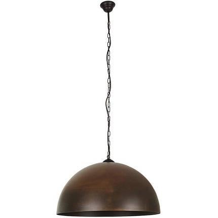 Люстра подвес одноламповая NOWODVORSKI Hemisphere Rust 6368 коричневая, фото 2