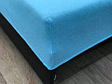 Наматрацник - простирадло на резинці SILK, 180х200 см, махра/трикотаж, фото 8