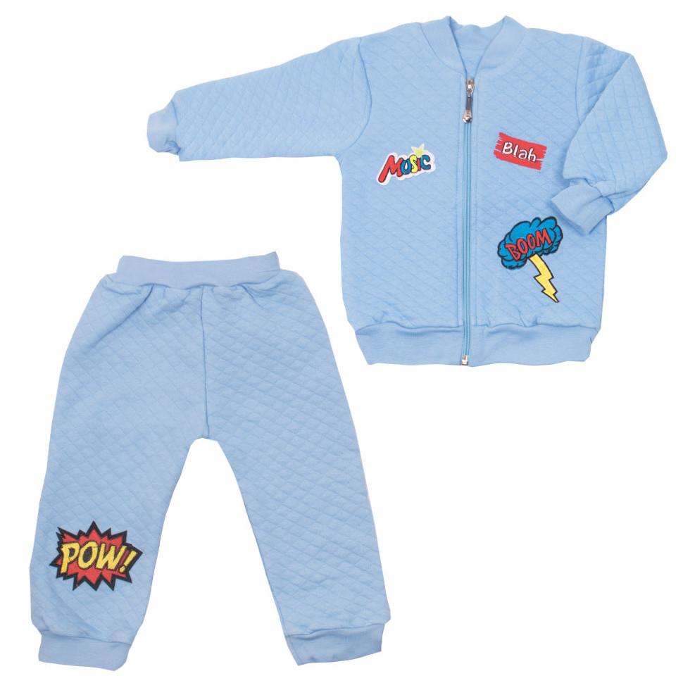 Детский костюм для мальчика «Шеврончики» в подарочной упаковке (2 предмета)