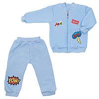 Детский костюм для мальчика «Шеврончики» в подарочной упаковке (2 предмета), фото 1