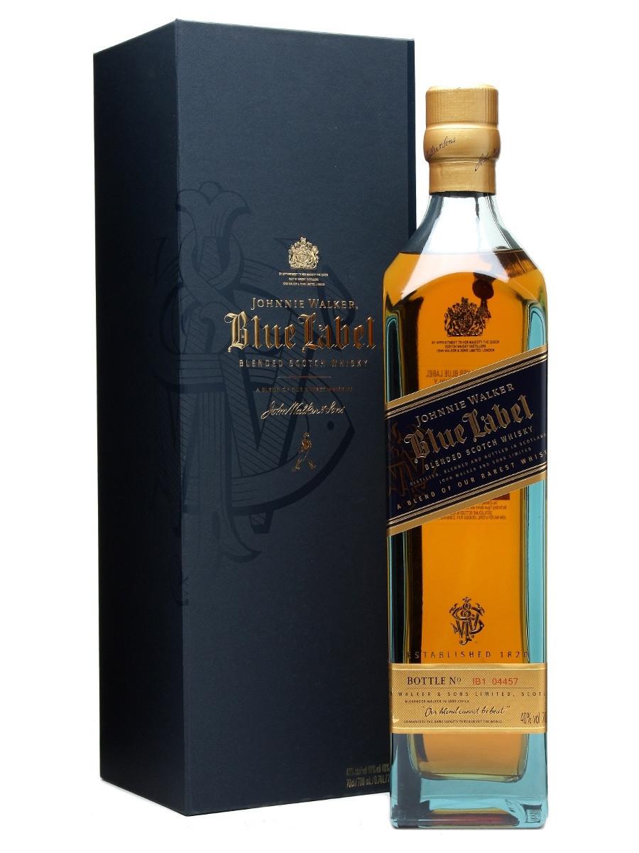 Шотландский виски Johnnie Walker Blue Label 0.7 л