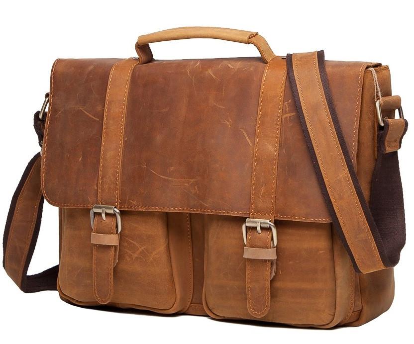 4529e34c95eb Мужской Кожаный Портфель TIDING BAG T0001 — в Категории