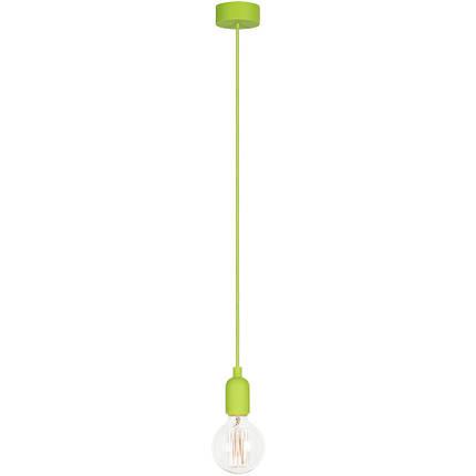 Люстра подвес одноламповая NOWODVORSKI Silicone Green 6405 зеленая, фото 2