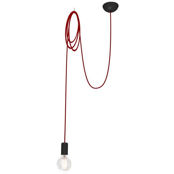 Люстра подвес одноламповая NOWODVORSKI Spider Red 6793 красная