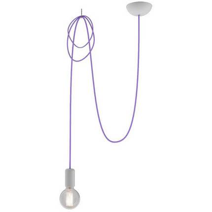 Люстра подвес одноламповая NOWODVORSKI Spider Violet 6938 фиолетовая, фото 2