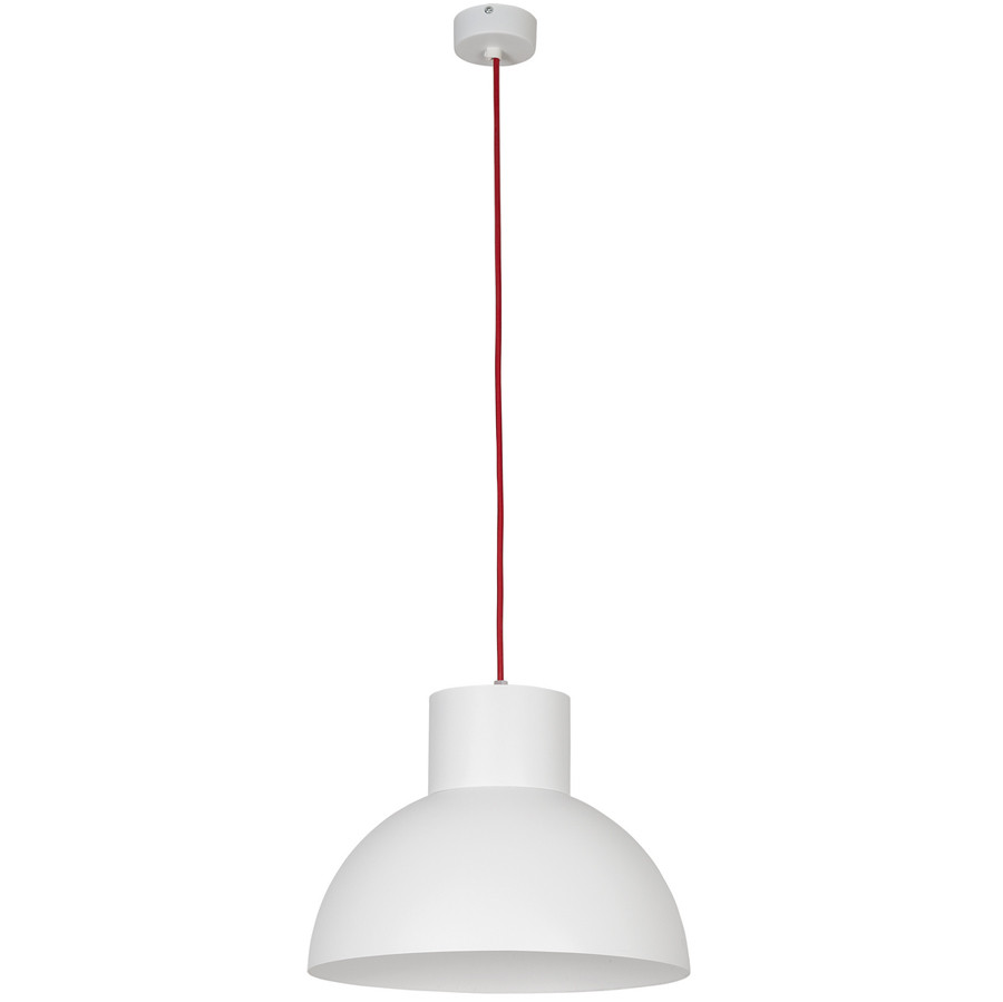 Люстра, подвес лофт NOWODVORSKI Works White-Red 6508 белая